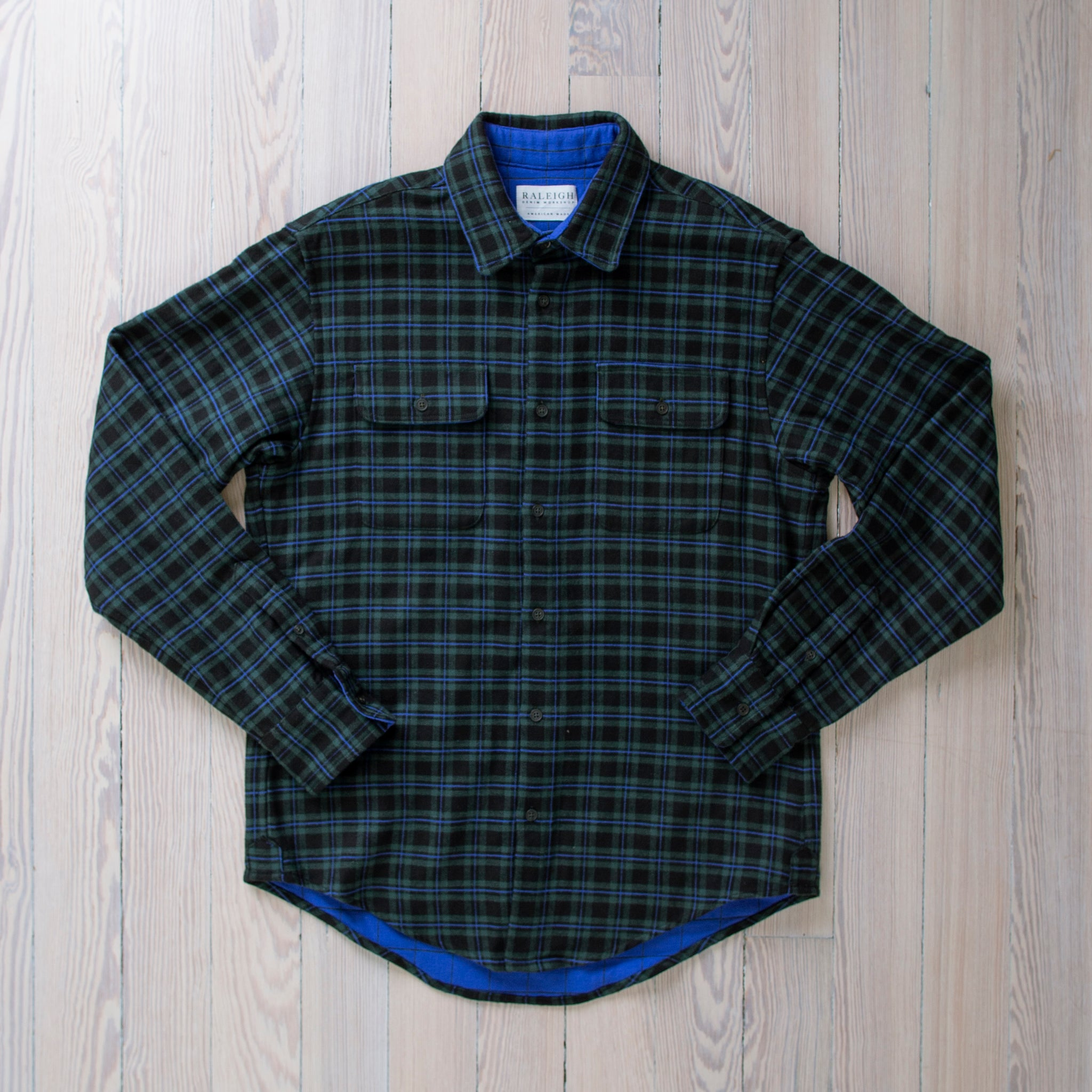 angle: griffin plaid