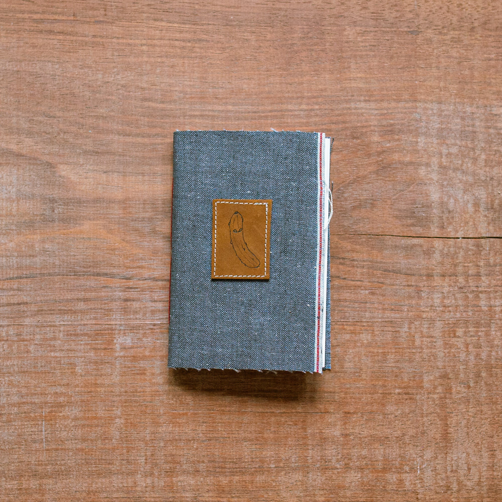 1/1 Pocket Journal, by Bill Thelen x Victor  Canvas Selvage