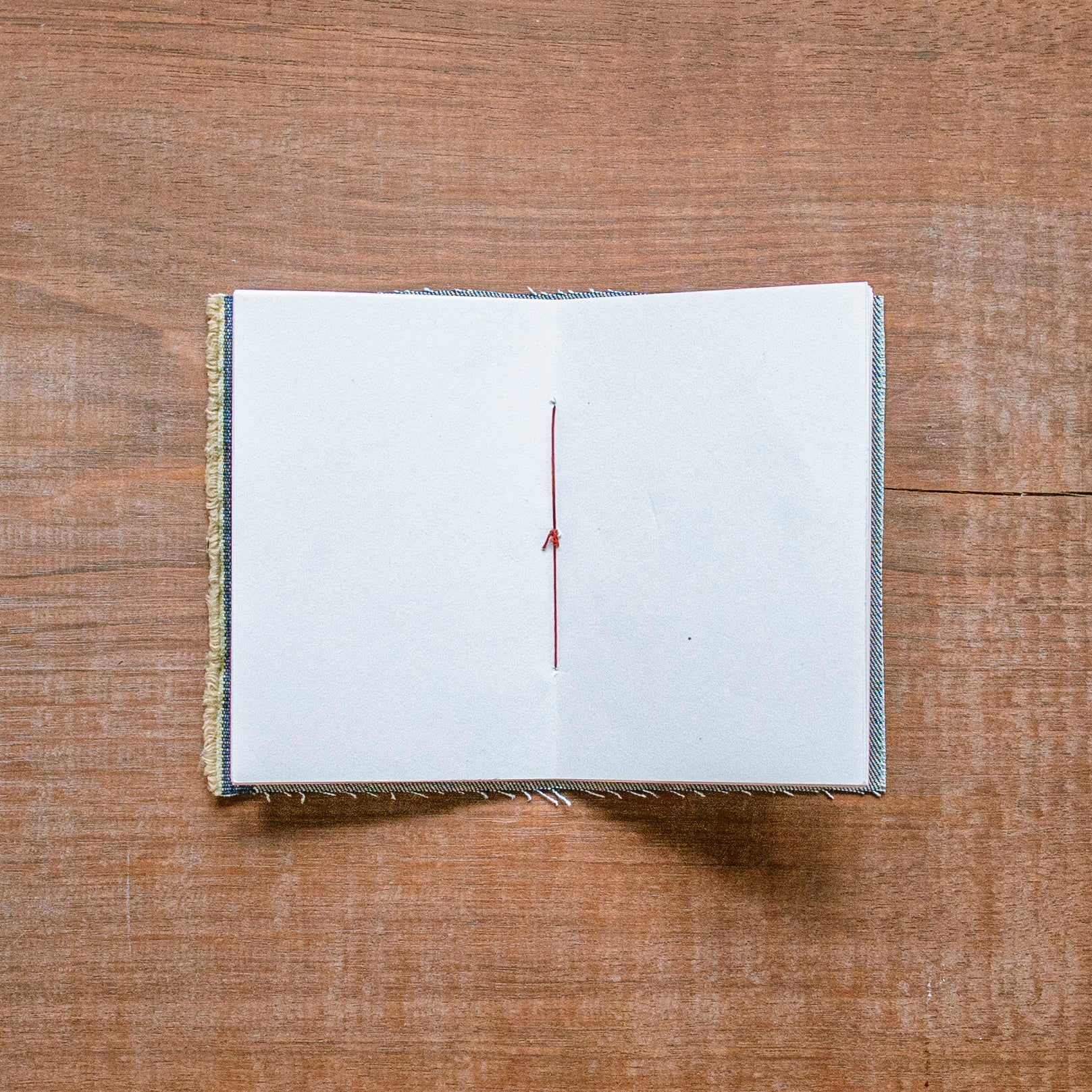 1/1 Pocket Journal, by Bill Thelen x Victor  Indigo Twill
