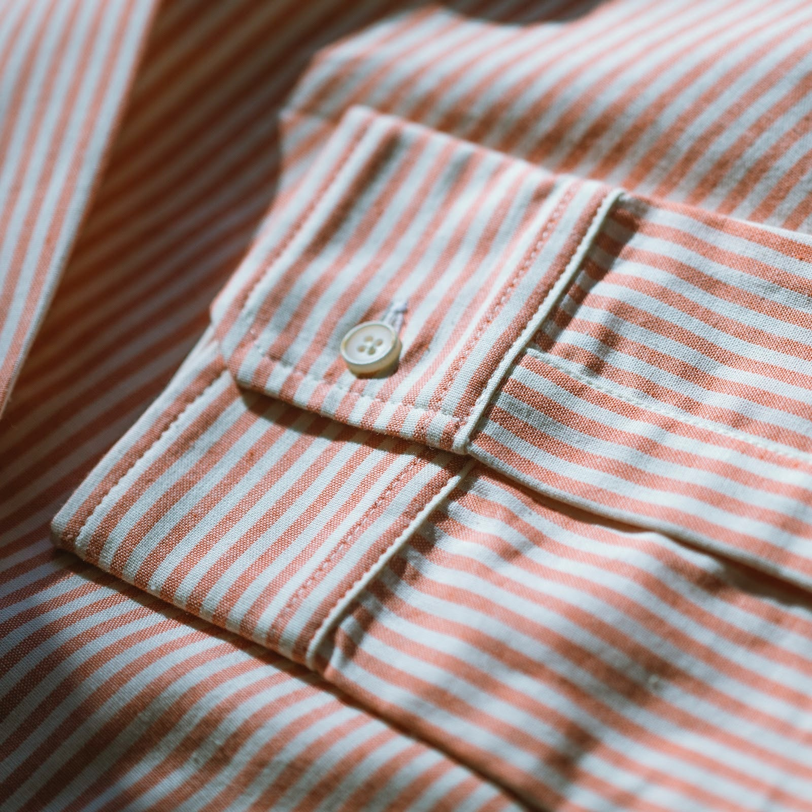 angle: sherbert stripe oxford