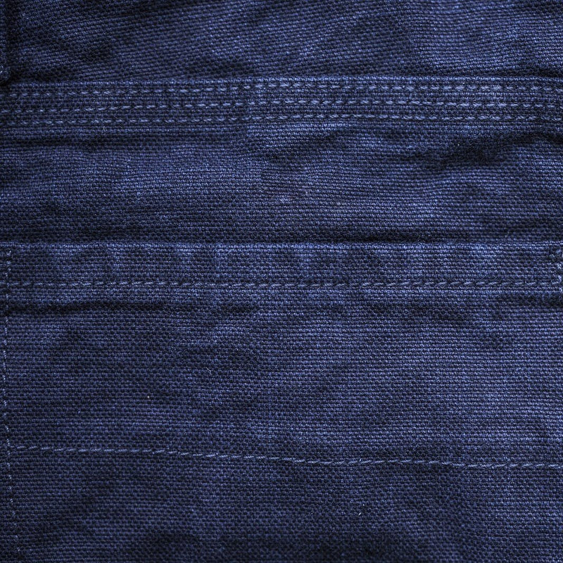 angle: cubist rinse  A Raleigh Denim Workshop Martin pants in Cubist Rinse