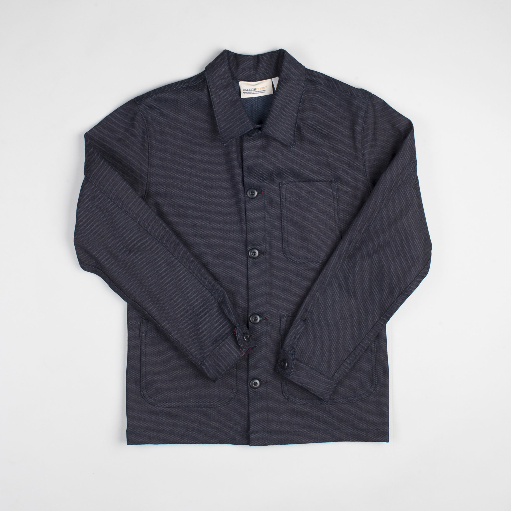 Chore Coat  Indigo Pin Dot