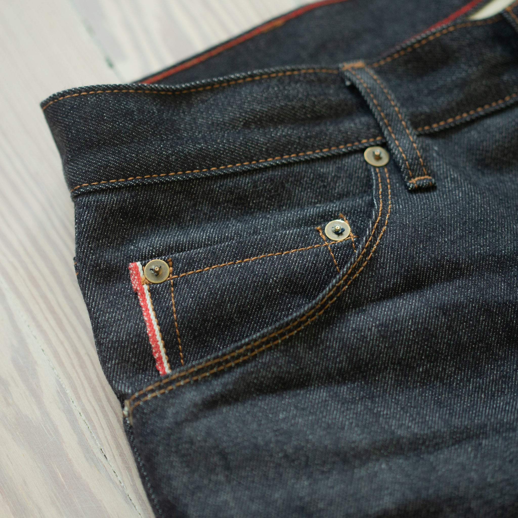 Jones Selvage Raw  New American