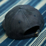 6 Panel Hat  OG Selvage Denim