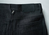 Martin: Selvage Raw  Black Cone