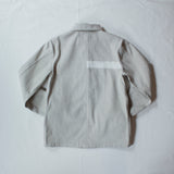 Chore Coat  White Heather Cone Selvage