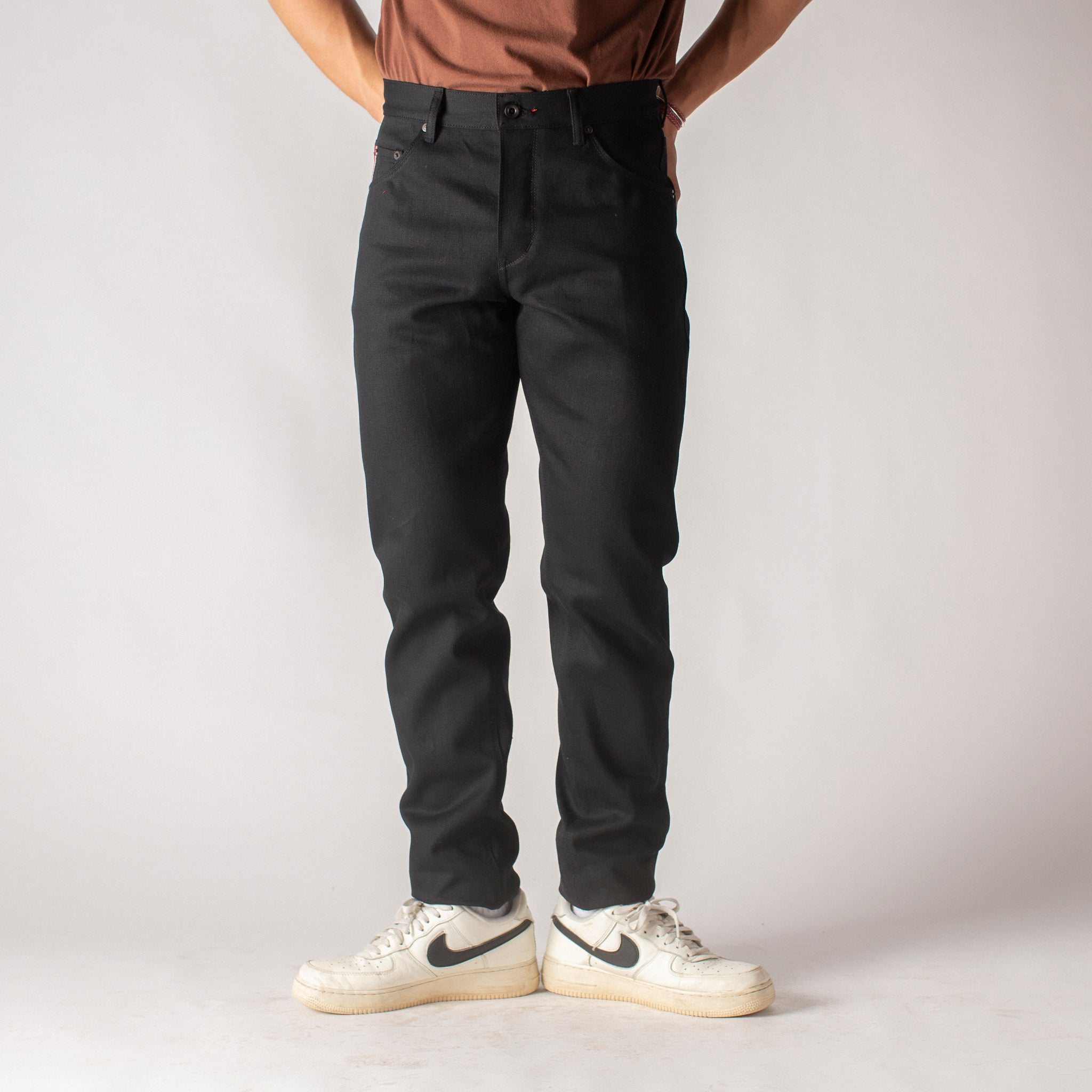 Graham: Selvage Raw  Black Vidalia