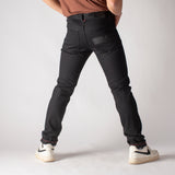 Martin: Selvage Raw  Black Vidalia