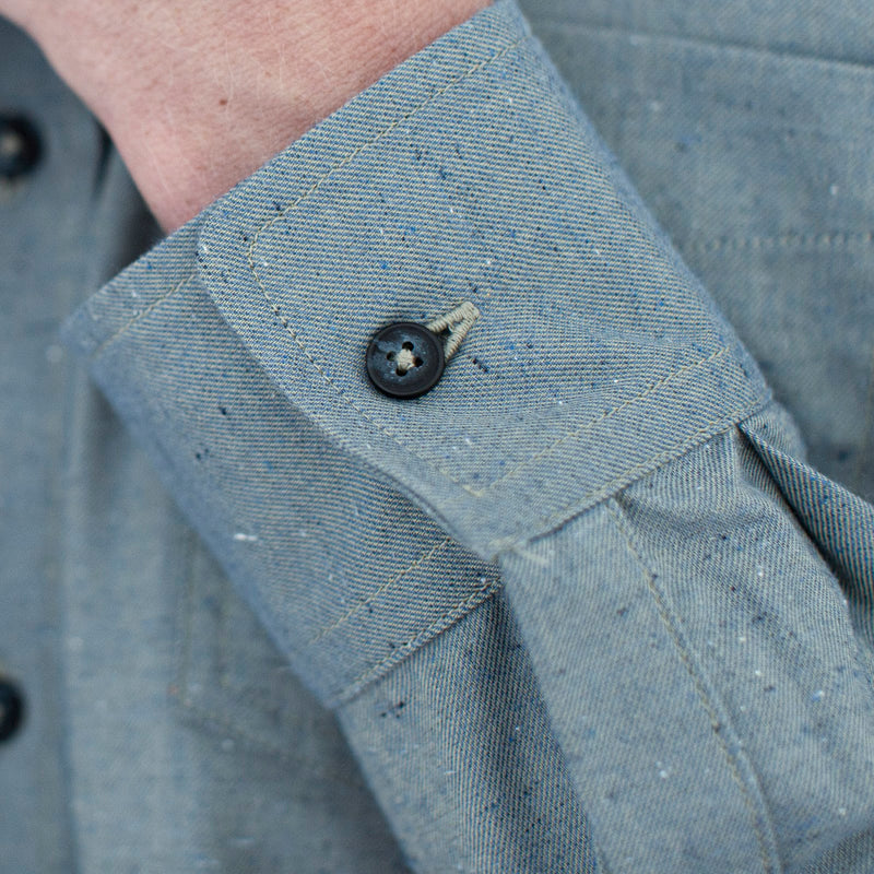 Patch Pocket Button Up  Green Paragon