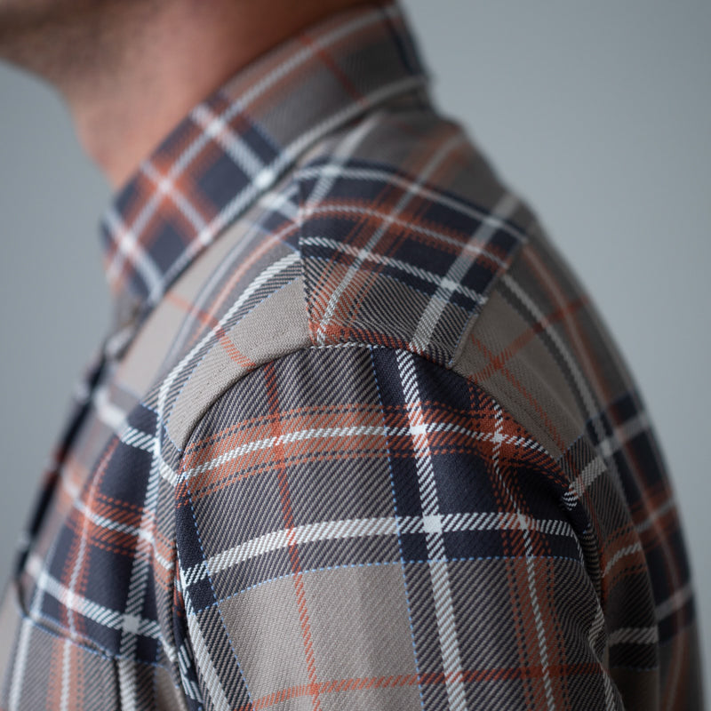 angle hover: sandstone plaid