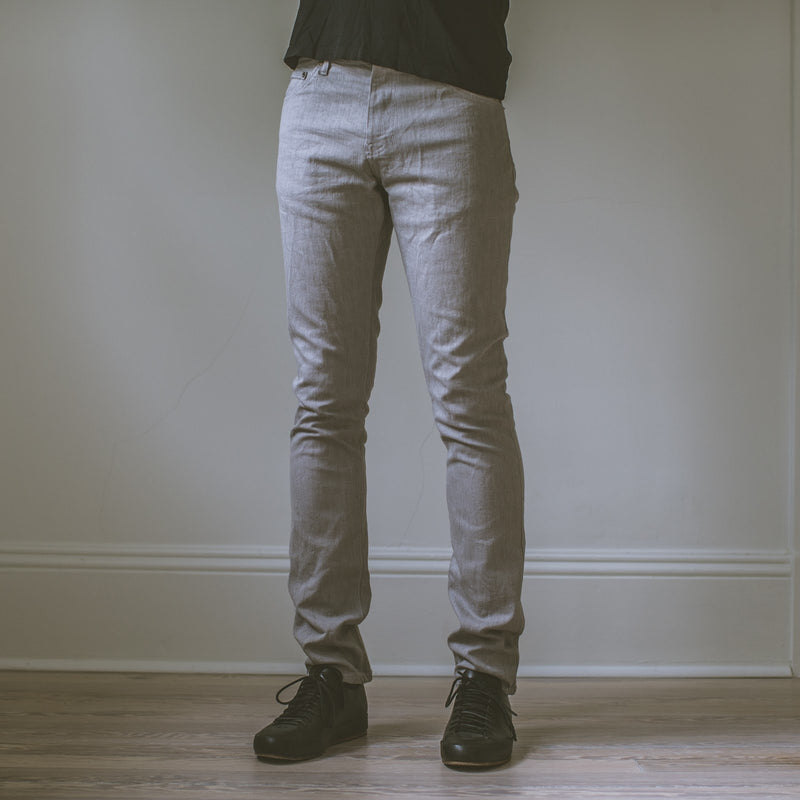 angle hover: stela  A Raleigh Denim Workshop Martin pants in stela