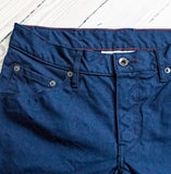 angle: navy tin cloth