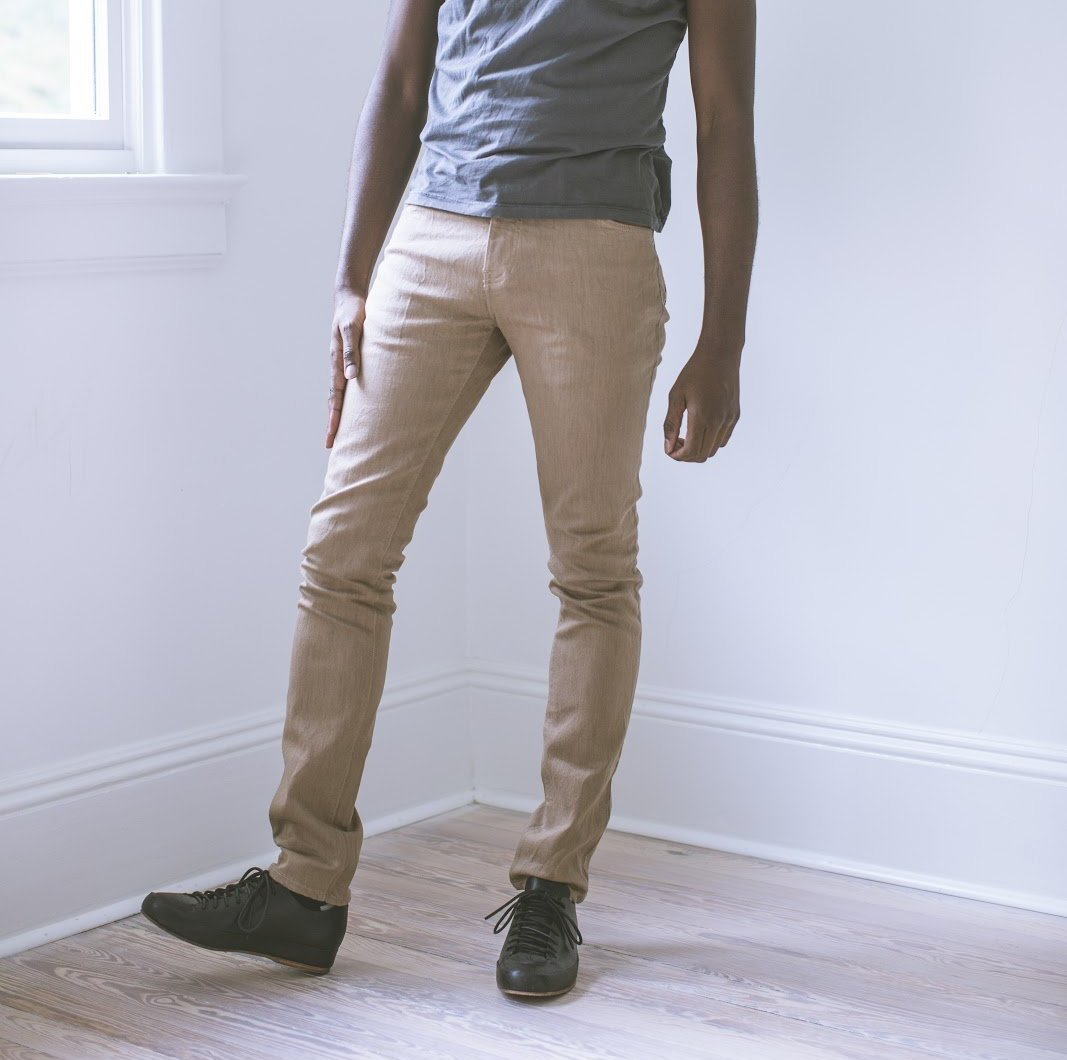 angle hover: tome  A Raleigh Denim Workshop Martin pants in tome
