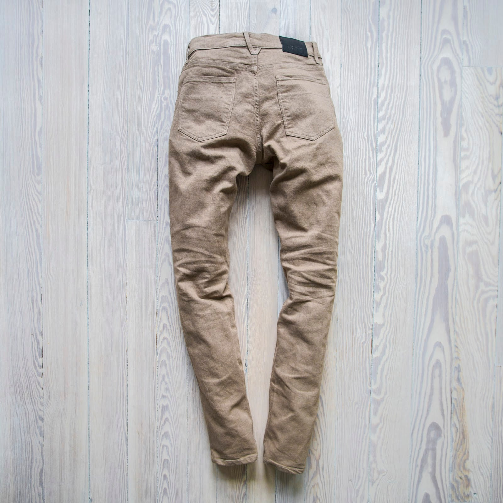 angle: tome  A Raleigh Denim Workshop Martin pants in tome