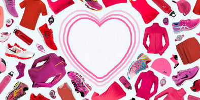 Forget Flowers, Red & Pink Running Gear Offer Way More Benefits