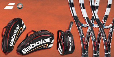 Limited Edition Babolat French Open 2013 Racquets, Bags & More