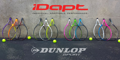 WATCH: Dunlop iDapt Racquet -- A Custom Tennis Racquet for YOU!