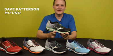 WATCH: Mizuno Wave Rider 18 Running Shoe Video