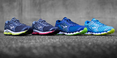 Mizuno Wave Sky: Run-Ready Neutral Shoes with CloudWave Technology