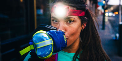 Nathan Halo Fire & Nebula Fire Headlamps Have Everything Runners Need to Stay Safe
