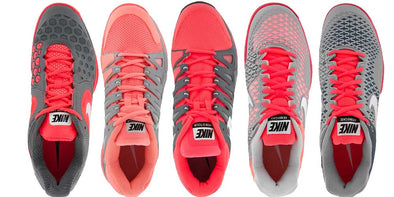 Nike US Open Tennis Shoes - Pink & Grey Rule the Day