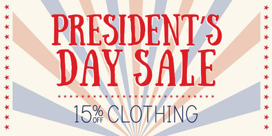 Celebrating US Presidents Who Run & Play Tennis... with a Sale!