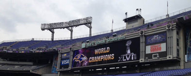 Congratulations Baltimore Ravens -- the XLVII Super Bowl Champions!