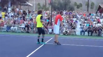 LMFAO's Redfoo is Serious about Tennis