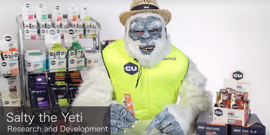 How to Eat GU... Yeti Style