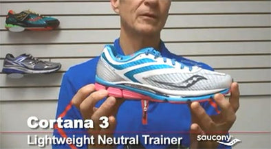 Video: Saucony Cortana 3 & Saucony Stabil CS 3 Running Shoes Preview