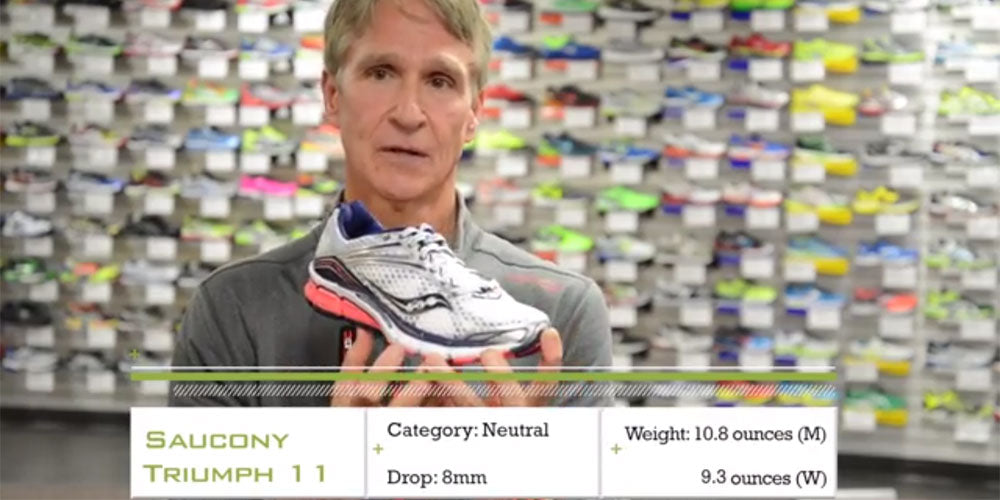 WATCH: Saucony Triumph 11 Running Shoe Preview – Holabird Sports