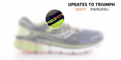 WATCH: Saucony Triumph ISO Running Shoes Preview