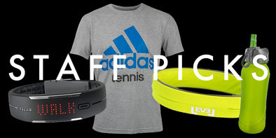 Holiday Gift Ideas: adidas Tennis Tee, Frosted Water Bottle, FlipBelt & Polar Loop Activity Monitor