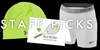 Staff Pick: ColdGear Beanie, Nike Shorts, Holiday Tennis Cards
