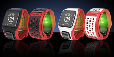 TomTom Runner Cardio Heart Rate Monitor Uses LED Lights to Replace the Chest Strap