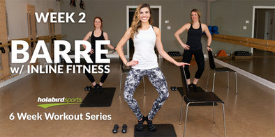 Week 2: At-Home Barre Workout w/Inline Fitness