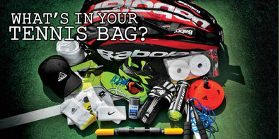 "Submit Your ""What's in Your Bag"" Video to Win a Wilson US Open Bag & Racquet"