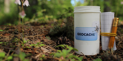If you haven't heard of Geocaching yet, trail runners and hikers, GET READY