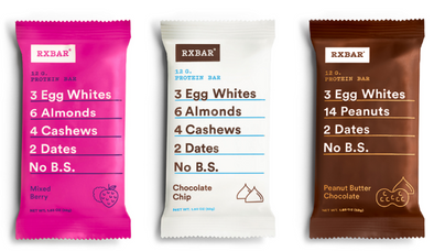 RX Bars Releases New Flavors and They ARE Tasty (AND SUPER HEALTHY!)