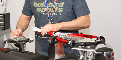 Ask the Stringer: Can Pulling Cross Strings Through Too Quickly Damage a Racquet?