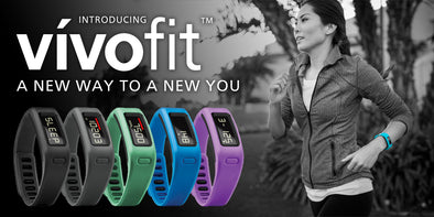 Garmin vivofit: Truly Personalized Fitness Tracker that Gets Results