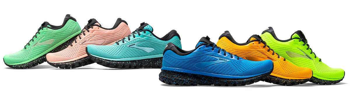 Brooks Ghost 12 Splash Collection