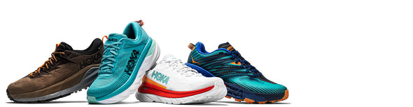 mens and womens hoka running shoes