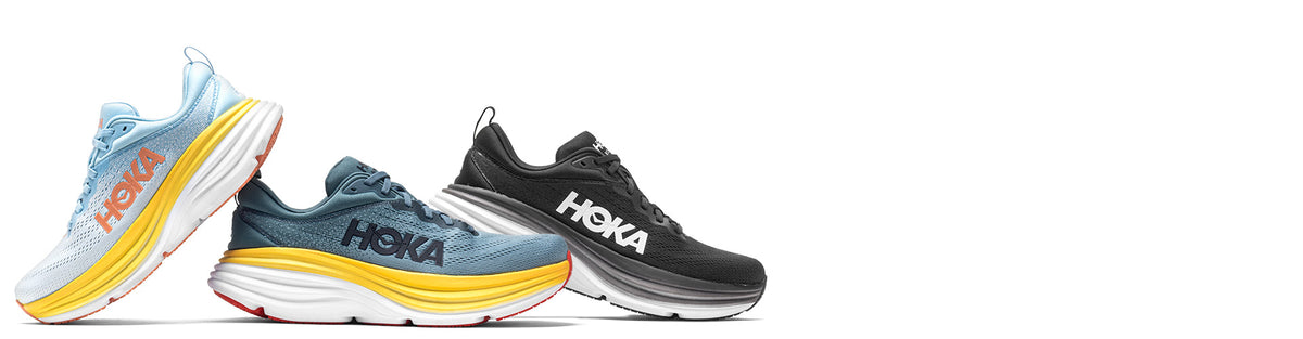 Hoka One One Bondi running shoes