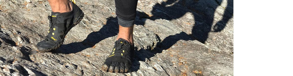 Vibram FiveFingers trail running shoes