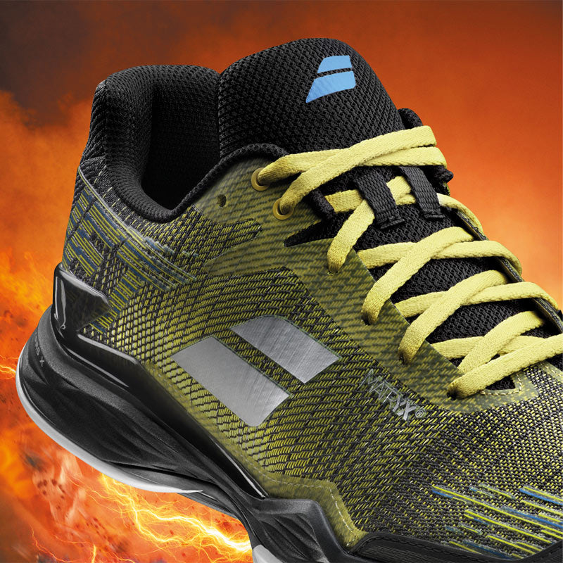 Babolat Get Mach II Clay in Color Black/Yellow