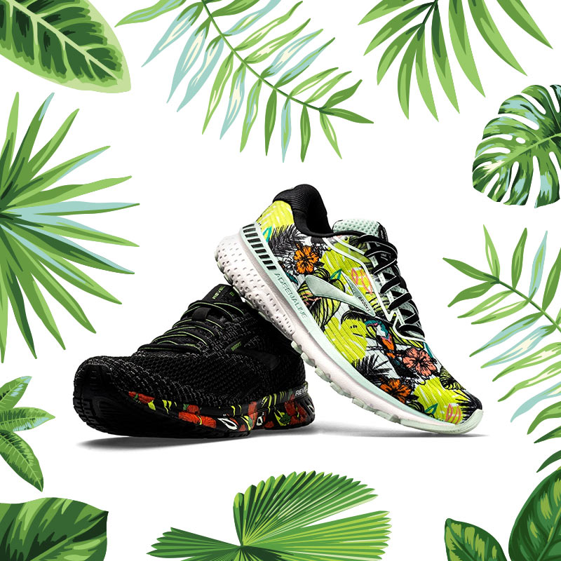 Brooks Hot Tropics Collection