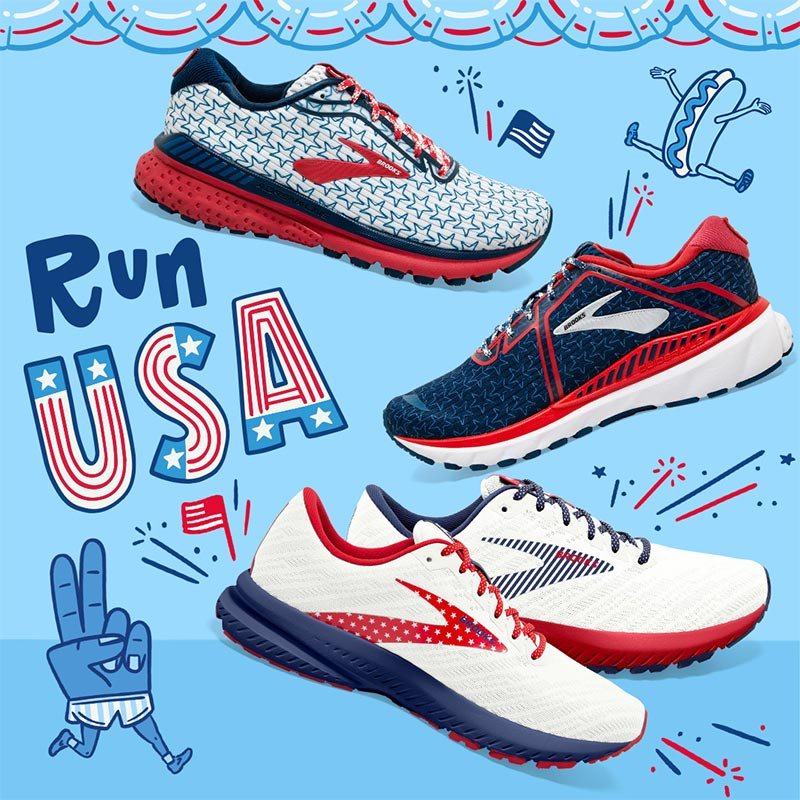 Brooks Run USA Collection