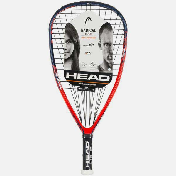 HEAD Radical Edge with Innegra Racquetball Racquet