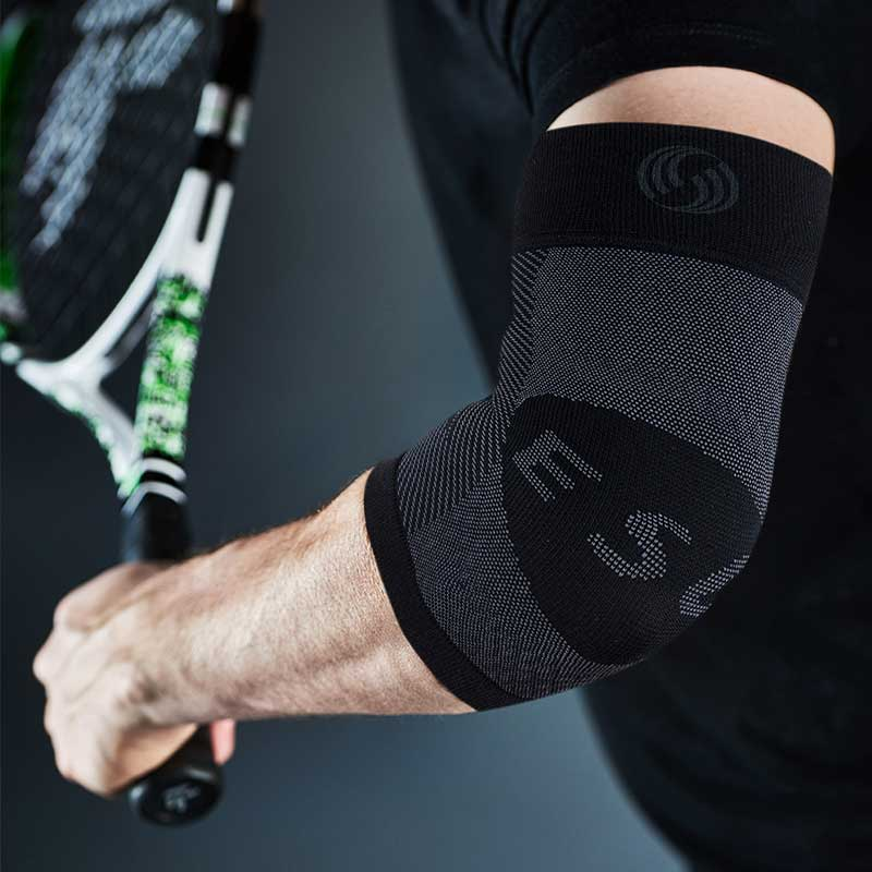 Man in OS1ST Compression Arm Sleeve